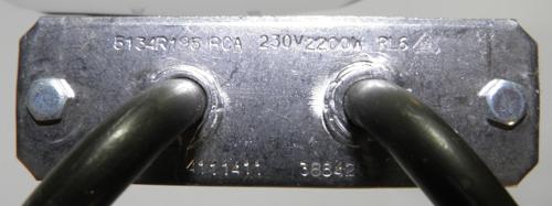 Тэн конвекции духовки Gorenje 318349 2200W