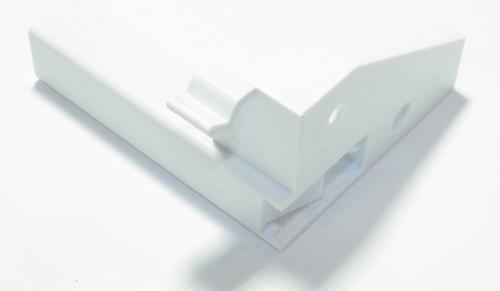 Крепеж панели, фиксатор откидной дверцы холодильника Snaige