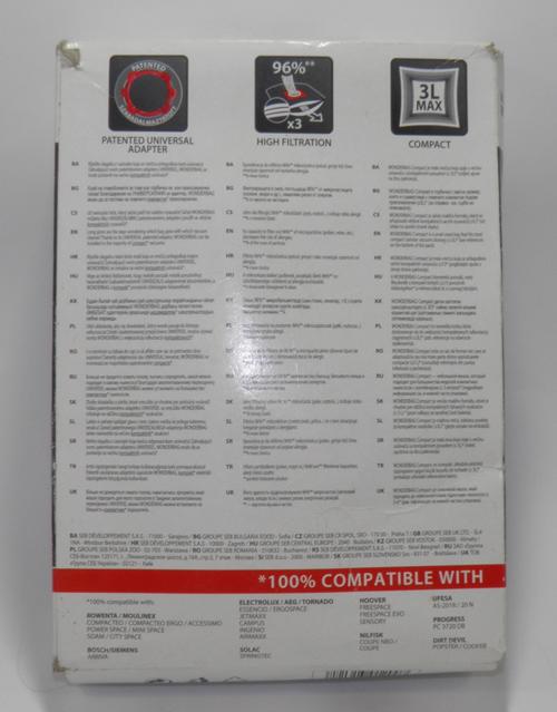 Пылесборник Rowenta WB 305140