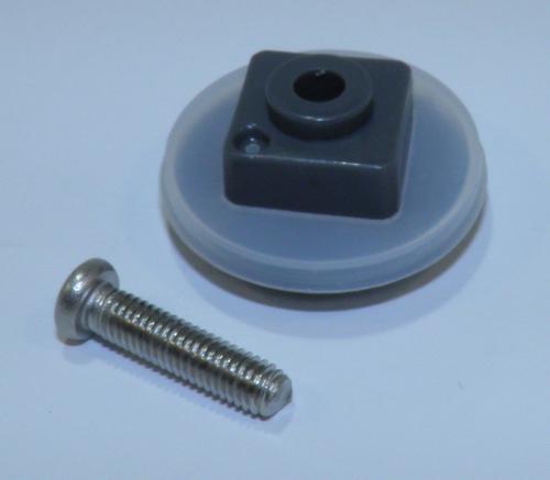 Уплотнительное кольцо + втулка + крепежный винт для шнека мясорубки Philips 996510076635